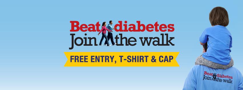 Beat Diabetes Walkathon 2013
