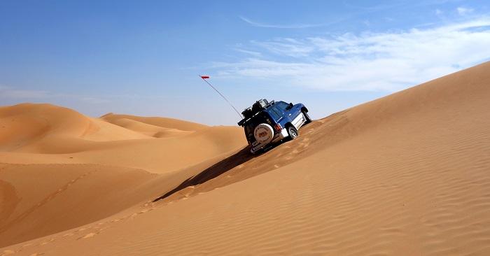 The Oman Quad, A circumnavigation of Oman