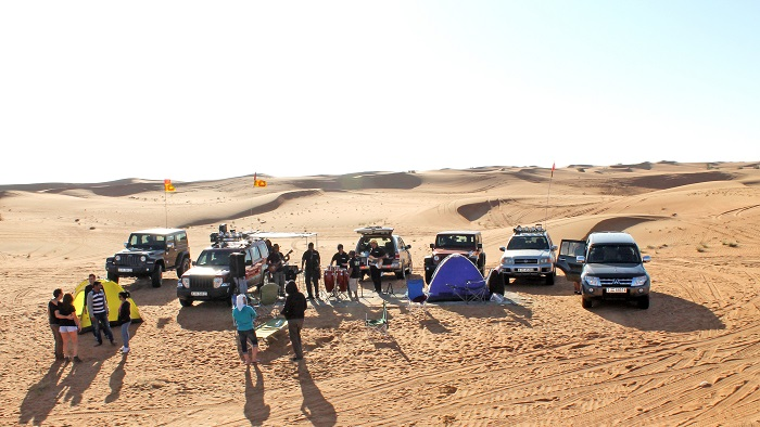 Love (For Outdoors), Actually: Sri Lankan Outdoor Lovers in the UAE