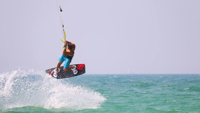 """Alessandro de Rubertis: """"I would like that people understand that the Ocean Sports Team is led by a strong passion, not only for kitesurfing but also for SUP and for surfing."""""""