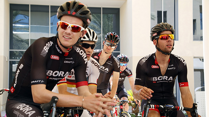 On the Road with a Pro Cycling Team: Behind the scenes with Bora-Argon18
