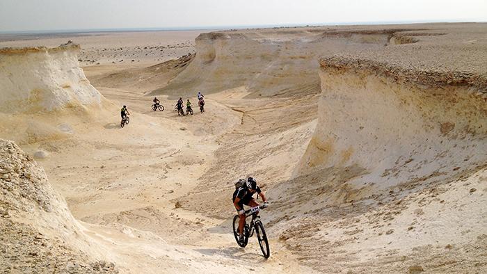 Mountain Biking in Qatar? YES YOU CAN!