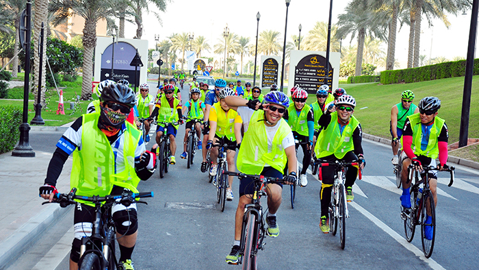 Uniting the Qatar Cycling Community: Ride of the Champions and Share the Road Campaign