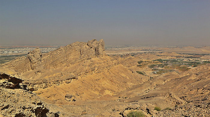 Jebel Hafeet hike