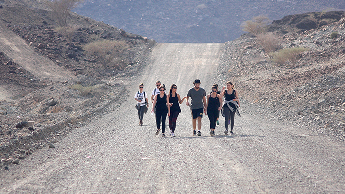 Wadi Al Helow Hiking