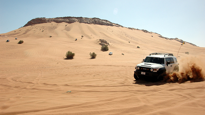 Going Xtreme with Ajay's FJ