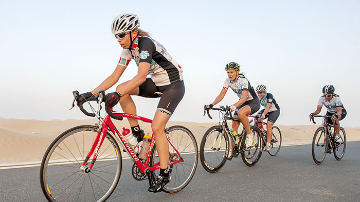 The Ladies' Very Own: Urban-Ultra Women's Cycle League Sponsored by Trek and High 5
