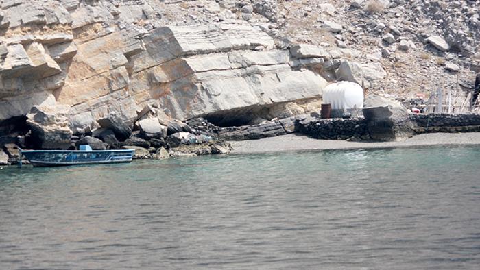 Water Stop for Fishermen