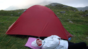 camping on mountains 2