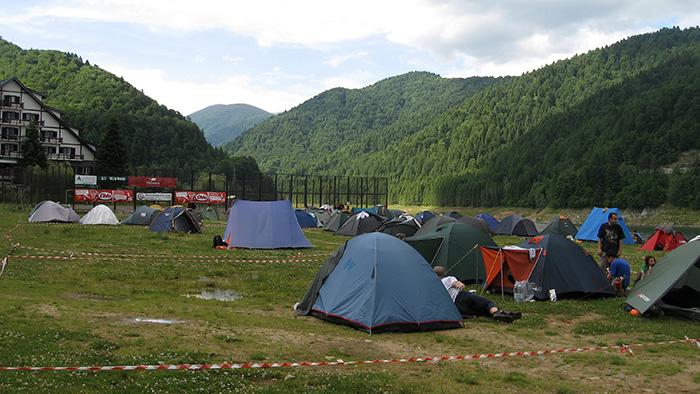 Scenic camping spots in Romania
