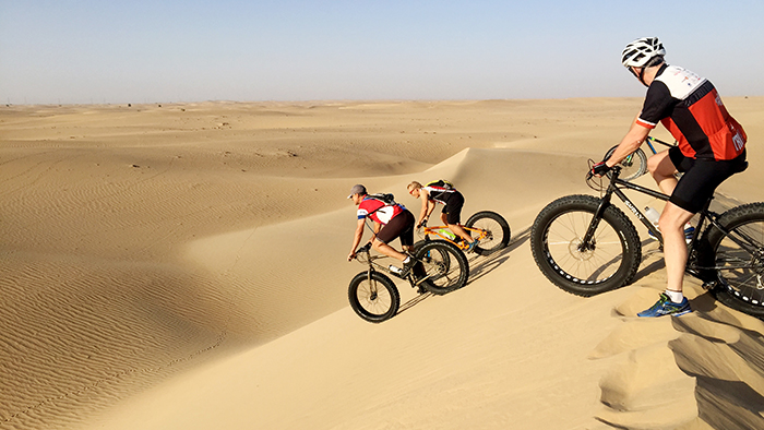 Fat Biking in Dubai