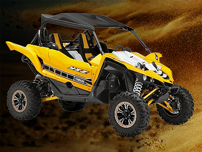 Yamaha YXZ1000R: Style, safety and POWER, whatever the terrain!