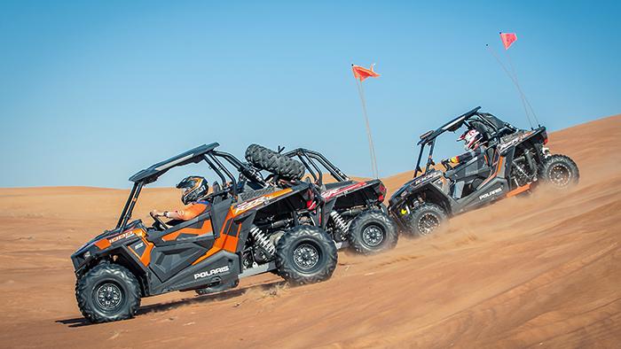 Desert Adventures with Big Red Motorsports