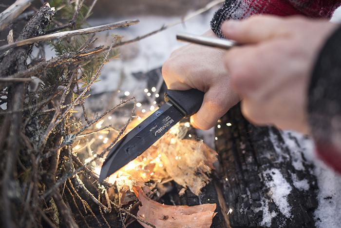 Start your Fire! Using Morakniv Knives