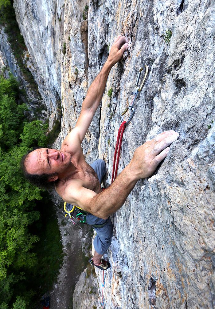 Climbing in Opolo Valley