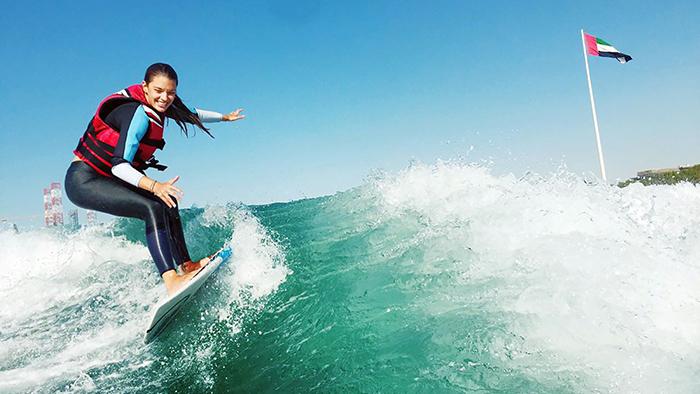 Wakesurfing UAE