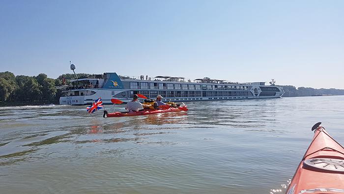 Kayaking 2,800km through 10 Countries