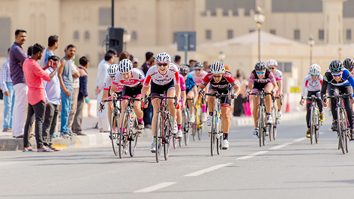 Women on Wheels: Ride Ajman – A First Class Cycling Event