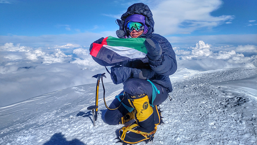 First Emirati Woman  to Summit Denali, Highest Mountain in North America