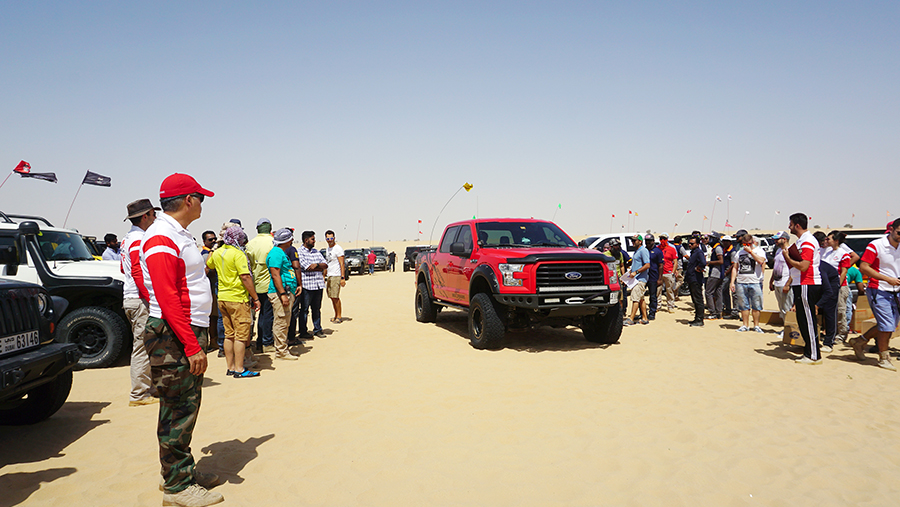Dubai Offroaders' GPS Challenge 2017
