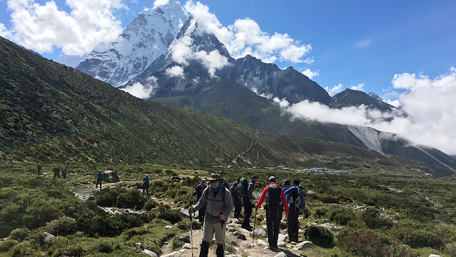 Everest Base Camp Encounters