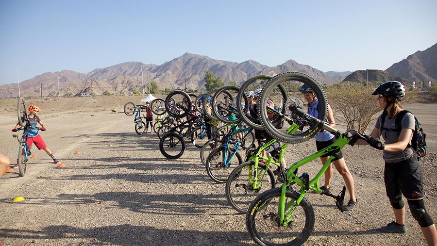 The Dirt Skirts Mtn Bike Club