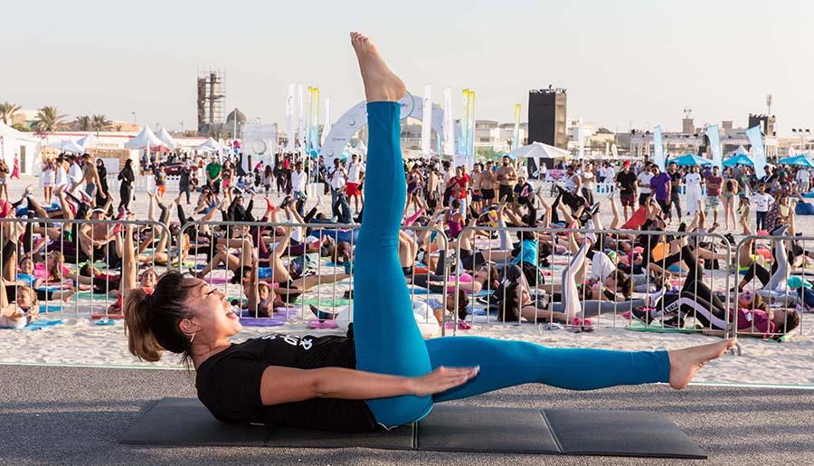 Dubai Fitness Challenge Takes Over Kite Beach