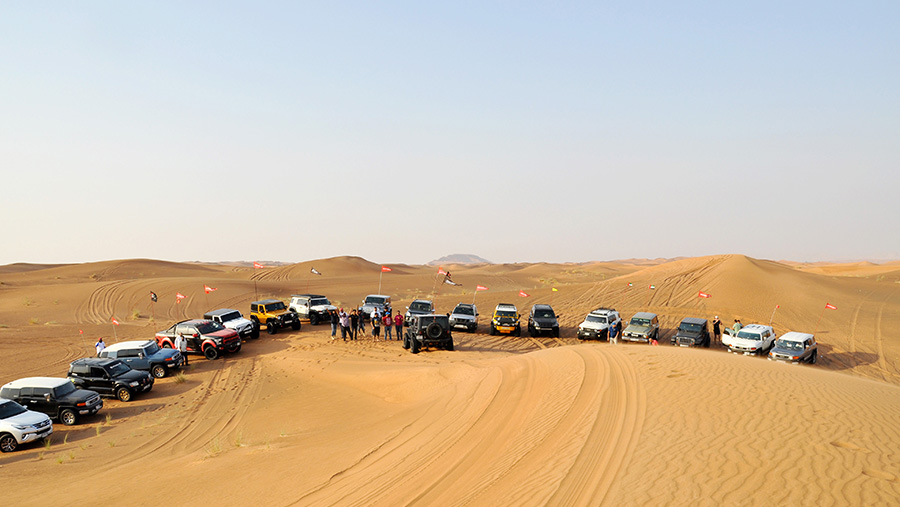Teaching People to Drive Offroad in the UAE