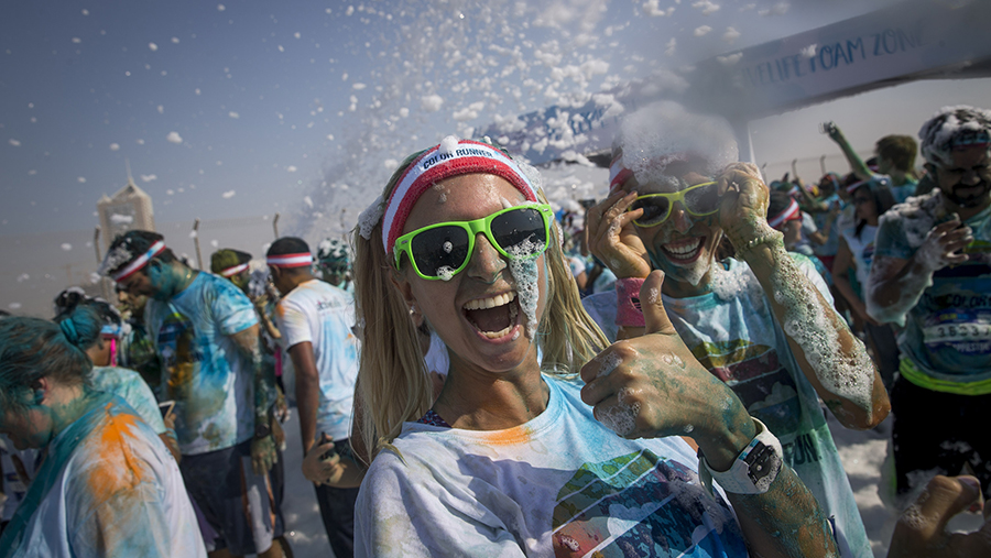 14,000 Take Part to Sell Out this Year's The Color Run