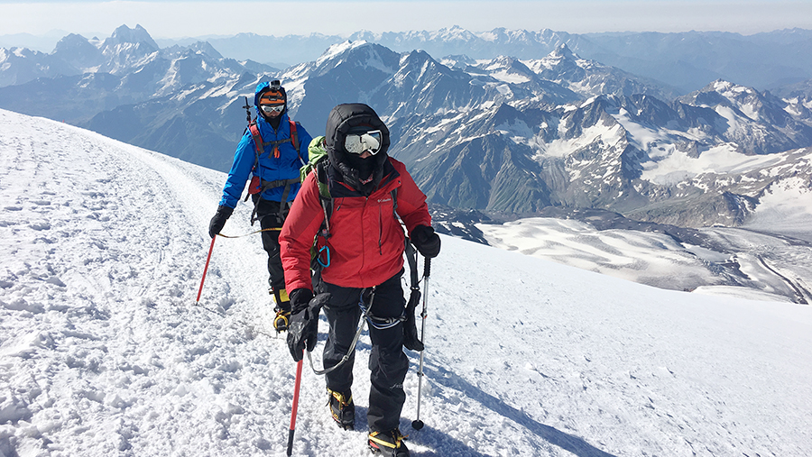 Tested Tough in Mount Elbrus
