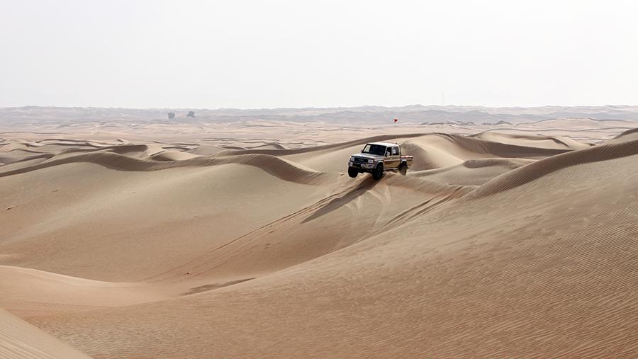 Dubai Offroaders GPS Challenge