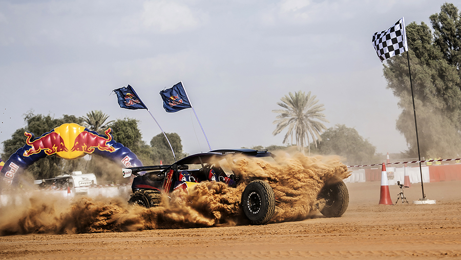 Desert Dune Buggy Driver Rashed Mohammad Al Dhaheri Crowned Winner of Red Bull Torque 2017