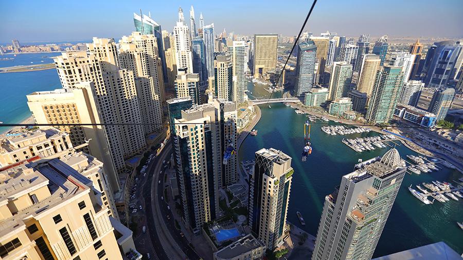 Xtreme Lengths: XDubai Unveils the XLine Dubai Marina, the World's Longest Urban Zipline