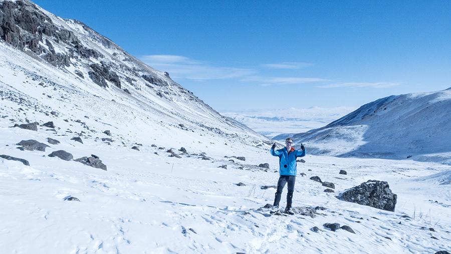 Mount Aragats – Ice climbing in Armenia