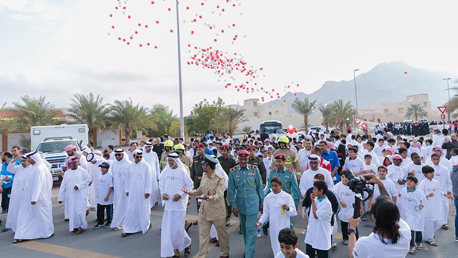 Hundreds Take Part in Hatta Walkathon