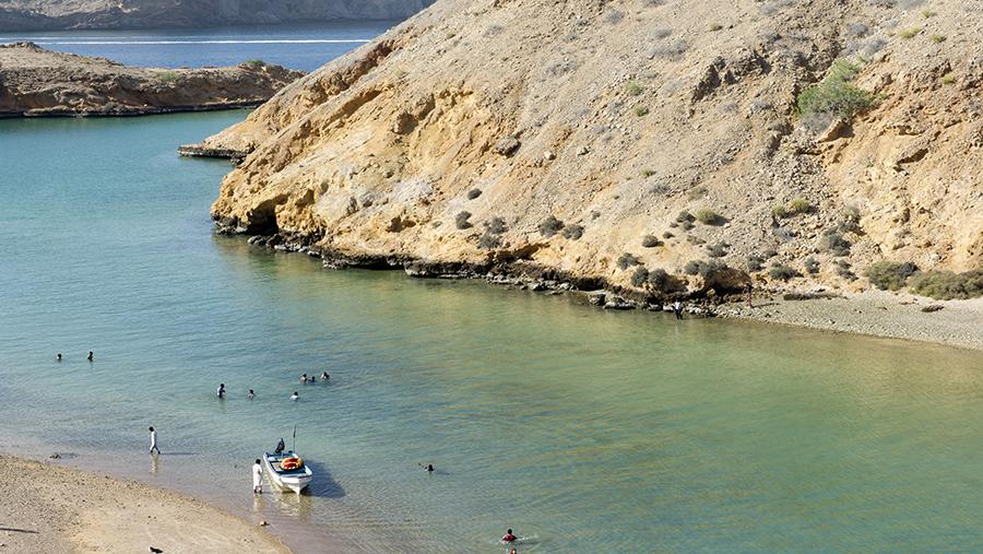 Muscat and the Al Hajar Ash Sharqi