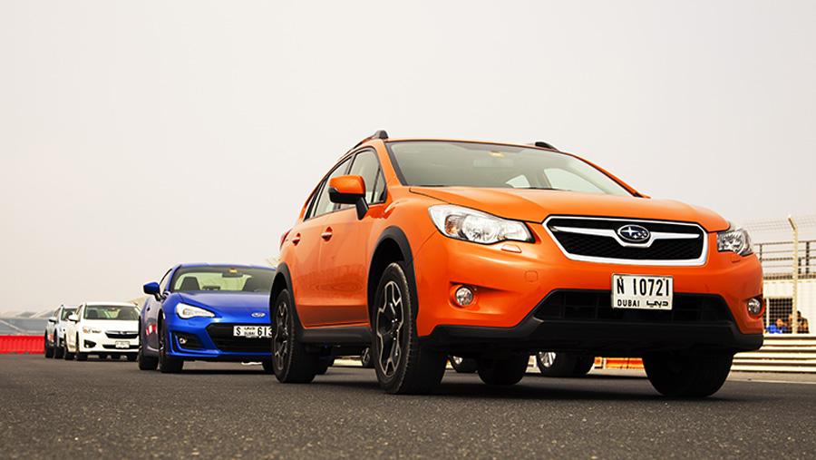 Subaru Driving Experience with EyeSight Demonstration