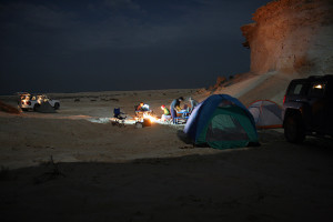 Camping in Zekreet, Qatar