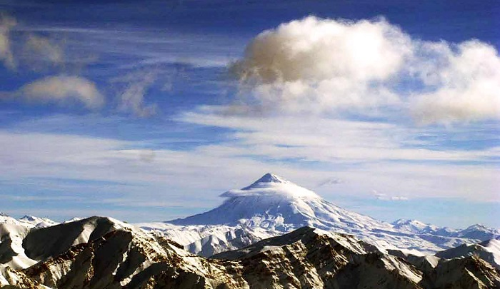 Persian Volcanoes: Mount Damavand