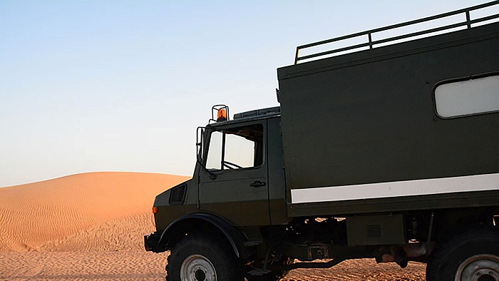Adventures in The Unimog: The Maiden Voyage to Oman