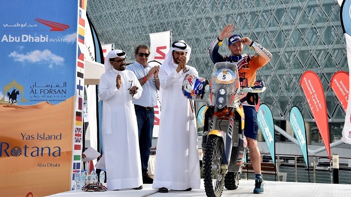 Toby Price Claims Bikes Crown on Debut in the Abu Dhabi Desert Challenge