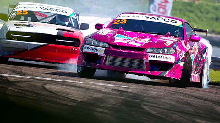 Yas Marina Goes Sideways: The Local Royals of Slide Battle it out at Yas Marina
