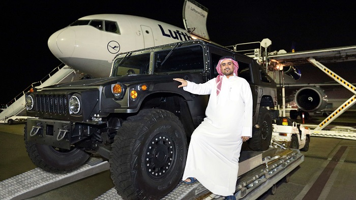 Liberty Automobiles flies in region's first-ever HUMVEE C-Series ahead of summer launch