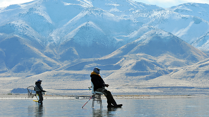 Pyramid Lake: Fly fishing for desert trout