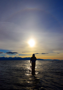 Pyramid Lake Fishing