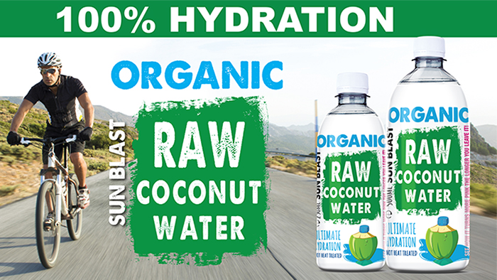 Tried & Tasted: 100% Hydration Organic Raw Coconut Water