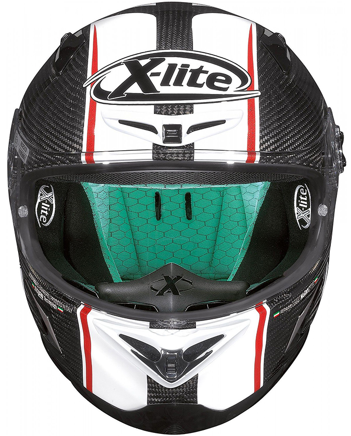 X-Lite X-802Rr Ultra Carbon: Light and Sporty Helmet