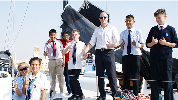 Dubai to Muscat Silver Anniversary Offshore Race Launch