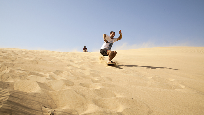 Tried & Tested: Sandboarding with a locally made board