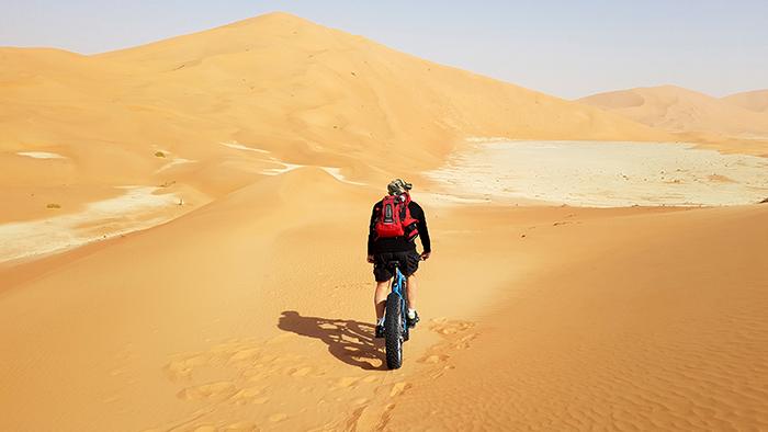 Rub Al Khali Cycle Race